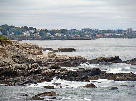 Portland, ME: Someday I may just live in one of those houses.  Maybe when I get my doctorate I can teach at Th