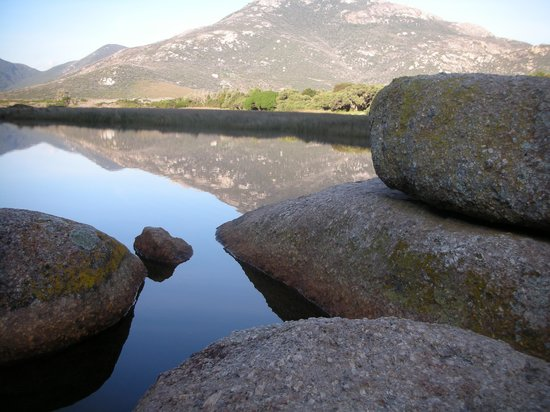 Still water reflection... - Picture of Wilsons Promontory ...