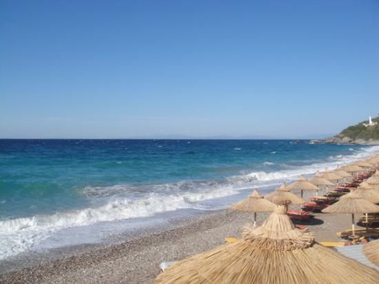 Kokkari, Greece: Samos beach!