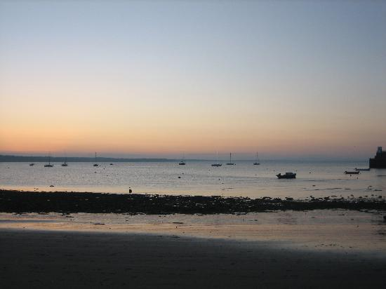 Skerries, : the bay