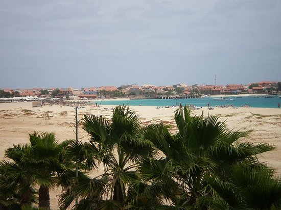 Santa Maria, Cape Verde: dalla terrazza del resort