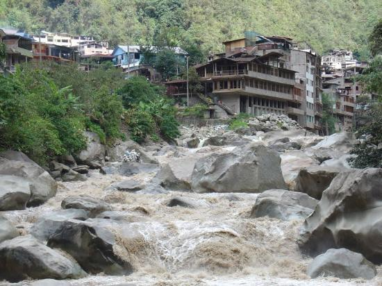 Aguas Calientes, Peru: Shortly after our visit here the place was flooded stranding 500 american tourist. Here's a link