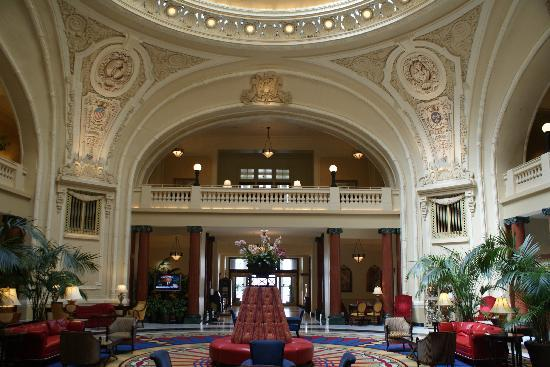 Historic lobby of battle house hotel picture of the for 5 star mobile salon