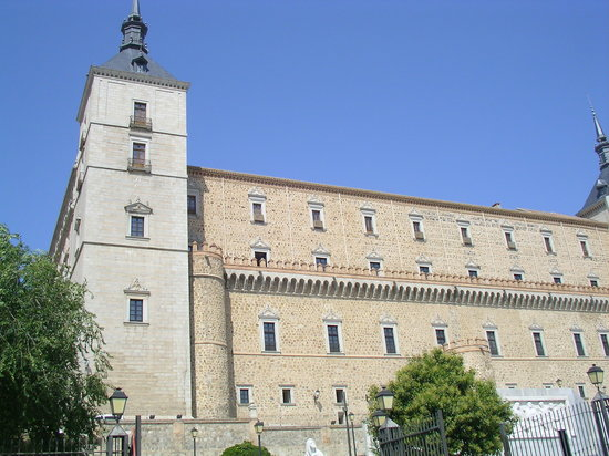 Toledo, Spanien: Alcazar