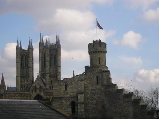 Lincoln Cathedral And Lincoln Castle Lincoln England