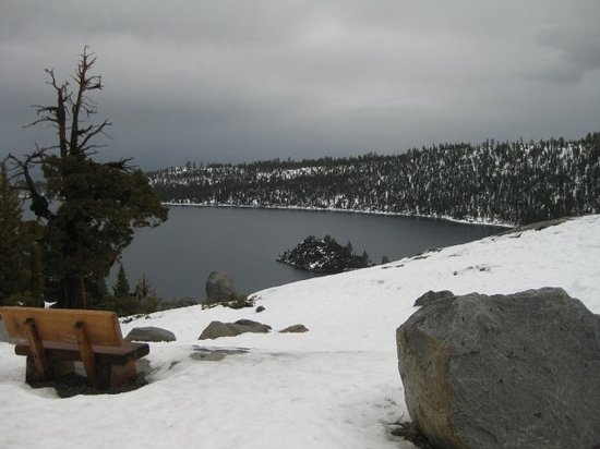 Olympic Valley, Californien: Emerald Bay
