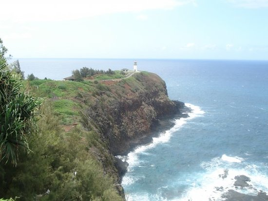 Princeville, : Kilaweia (sp?)  lighthouse and bird sanctuary.