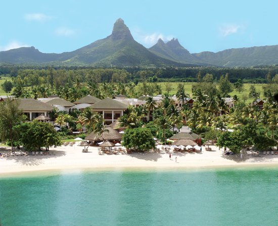 Hilton Mauritius Resort & Spa: Aerial View of the resort