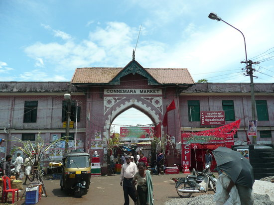 Thiruvananthapuram (Trivandrum), India: Connemara market