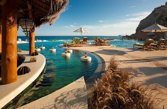 Pool bar at Capella Pedregal