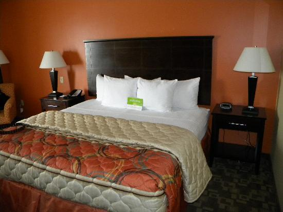 La Quinta Inn & Suites Tulsa Airport / Expo Square: King bed