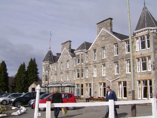 The Pitlochry Hydro Hotel: View of front of hotel