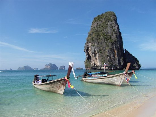 Railay Beach, Thailand: Phranang
