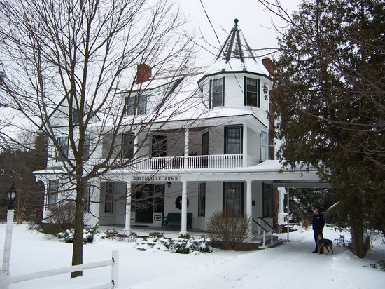 Greenville Arms 1889 Inn: A Winter Visit