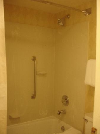 Residence Inn Chicago Deerfield: Tub/shower upstairs