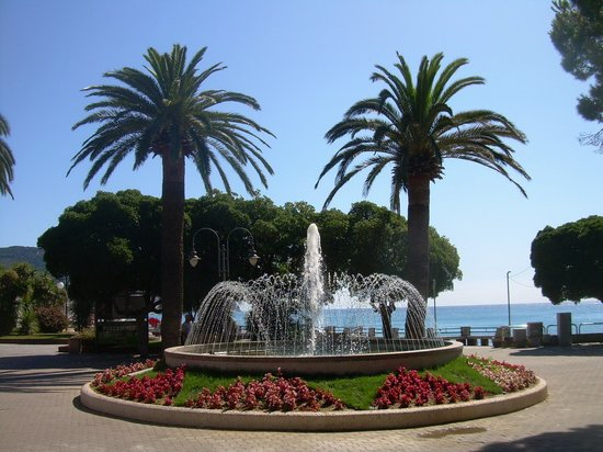 Pietra Ligure, Italien: Promenade