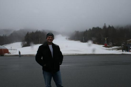 Warren, VT: Me and Sugarbush behind !