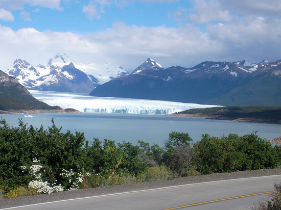 El Calafate, Argentina: prima foto dal pulmino del Perito Moreno
