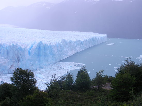 El Calafate, Argentina: l&#39;altro braccio che si vede dall&#39;alto