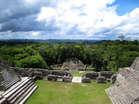 San Ignacio, Belice: Beautiful Caracol, south of Table Rock