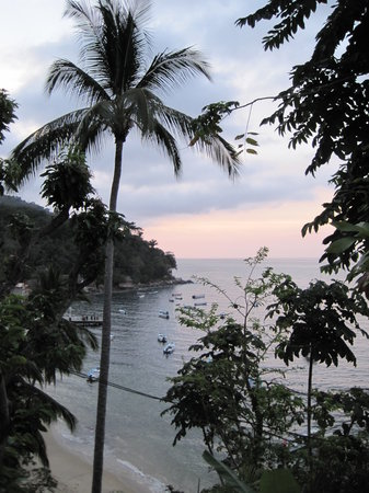 Yelapa, Meksyk: evening view from Casa Daniela