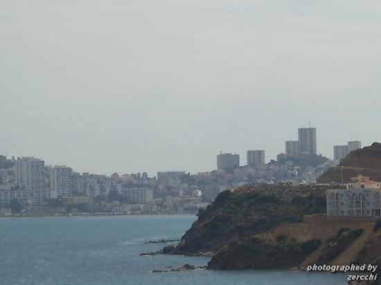 photo de la côte d'annaba