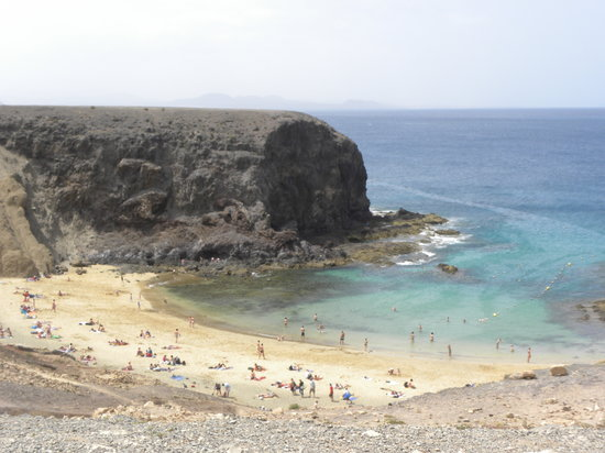 Lanzarote, Espagne : Playa Papagayo 