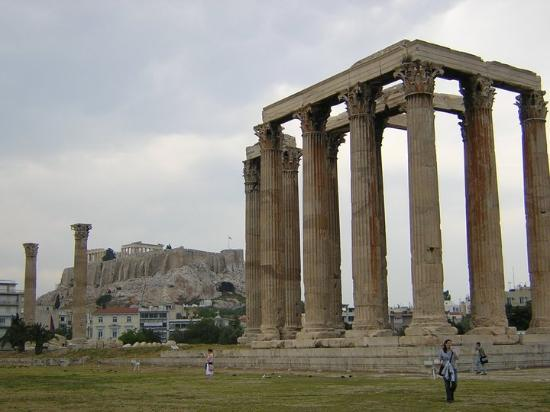 Piraeus, : Temple ruins