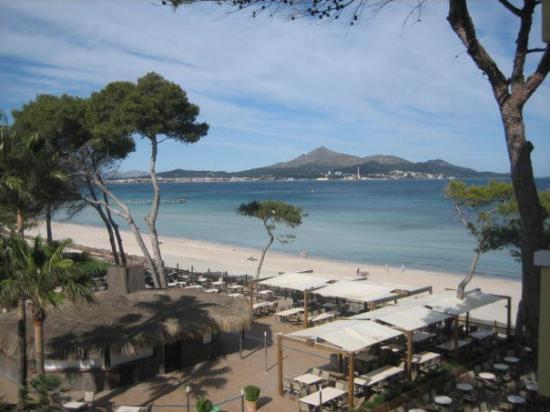 Alcudia, España: view from my hotel balcony...don't hate me.