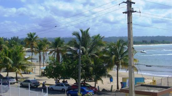 Arecibo, Puerto Rico: Another beach shot from the boat