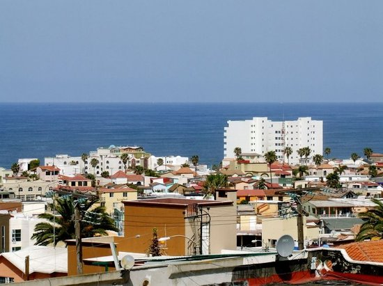 Tijuana, Mexico: View from living room window.