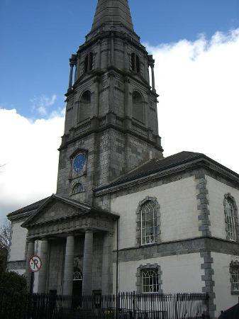 Waterford, : Waterford City - city center.  Looks like a church but there is no name on it.  All we saw is si