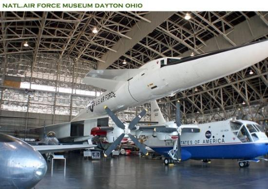 Dayton, OH : Lotta really strange planes.