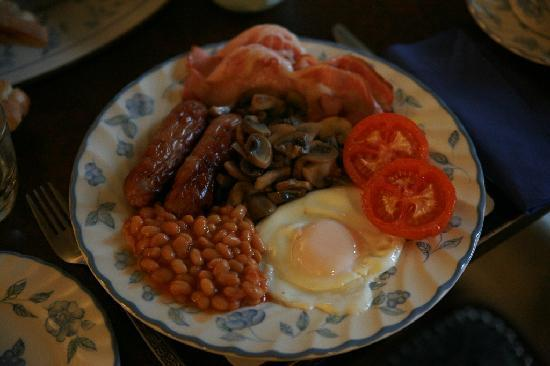 St Stephens Guest House : Full English Breakfast. 