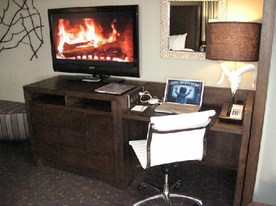 The Oxford Hotel: work area