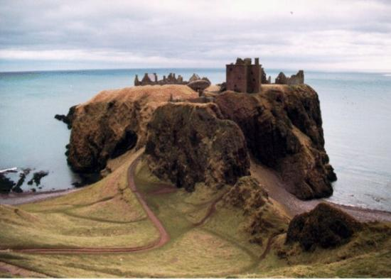 Stonehaven, UK: Dunnotar Castle - Stonehaven Scotland