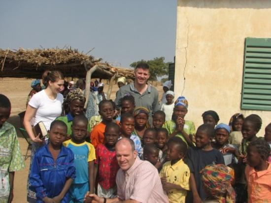 Bamako, Mali : The kids swarmed us after church! 