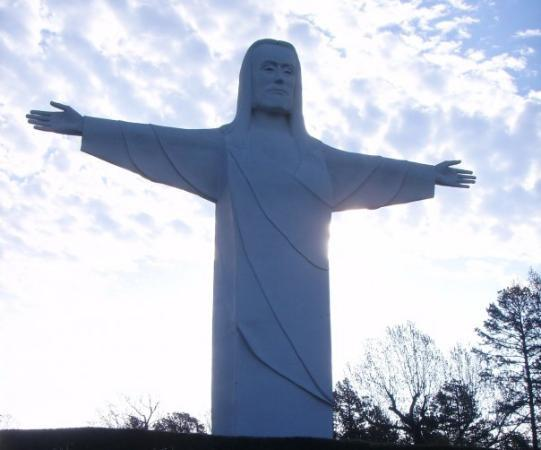 Christ of the Ozarks, Eureka Springs.