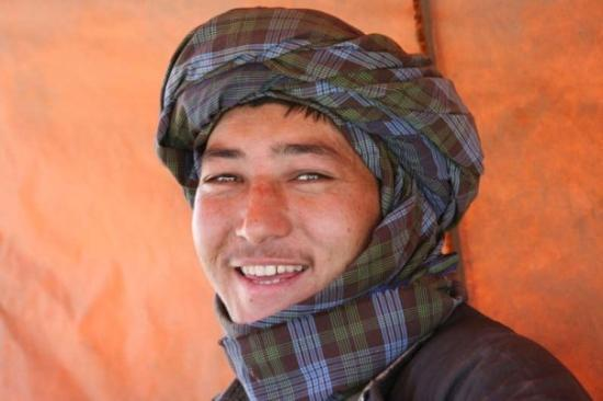 "A Hazara young man (as in ""Kite Runner"") in Kabul ..."