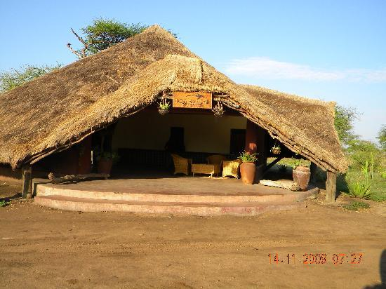 Serengeti Tented Camp - Ikoma Bush Camp: Reception