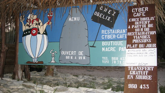 Rangiroa, French Polynesia: Chez Obelix