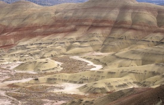 Painted Hills - John Day Fossil&#39;s Bed NM (Oregon)