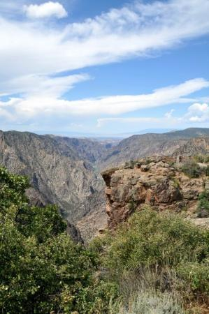black canyon of the gunnison np (colorrado) picture of