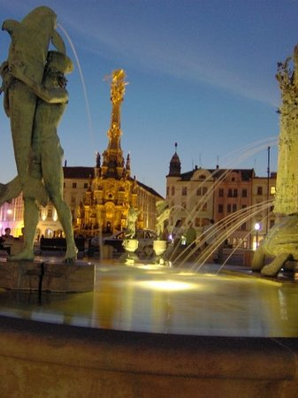 Olomouc at night