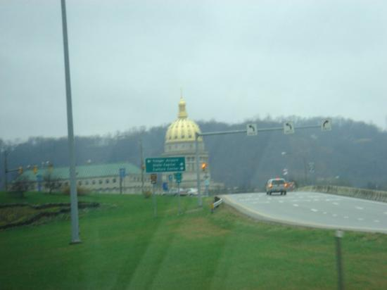 Charleston, WV. Shiny building!! Is this some sort of temple, or parliamentary building? No clue