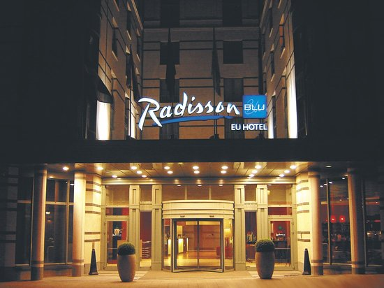 Radisson Blu EU Hotel, Brussels : Entrance 