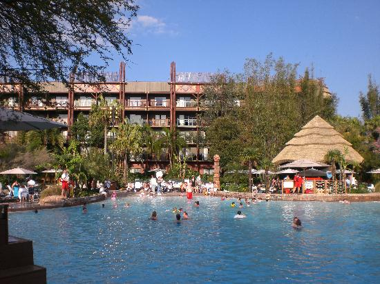 The Pool Picture Of Disney S Animal Kingdom Lodge