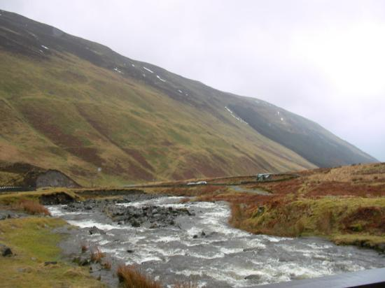 Moffat, UK: waar het water wild stroomde