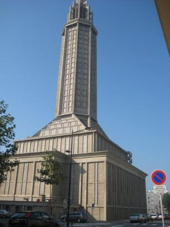 Le Havre, France : l&#39;glise st. Josephe, je pense qu&#39;elle n&#39;est pas assez jolie :p  