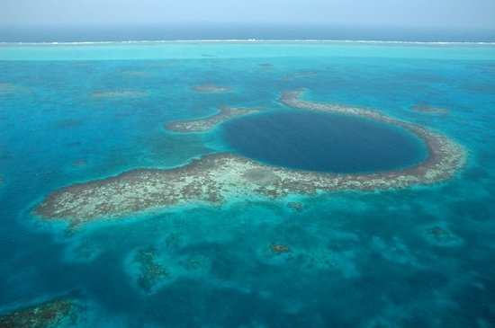 The Great Blue Hole at Lighthouse Reef